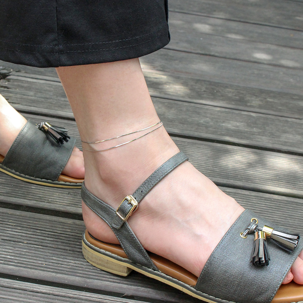 Cable anklet
